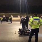 Accident grav în București în fața Parlamentului. Un polițist de 30 de ani, aflat pe motocicletă, a decedat în urma coliziunii cu un autoturism
