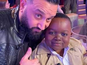 Petit Mayombo et Cyril Hanouna