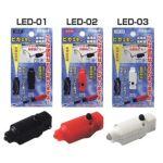 日本【SUNFLAG】新輝牌纖巧LED夾燈 No.LED-01