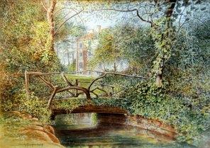 ACHAT DE LA VILLE : Jacky AUGAGNEUR n°7 « Le Petit Pont du Parc Vermorel »