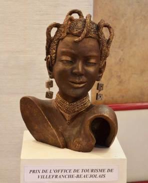 PRIX DE L'OFFICE DE TOURISME : Kryss CHAIX pour la sculpture n°45 « Les Rastas »