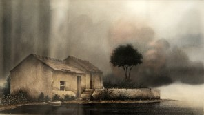 PRIX DE L'EXPRESSION ARTISTIQUE LOCALE : décerné parla Commission Culturede la Ville . Denis PLESSEY pour le n°199 » L'orage »