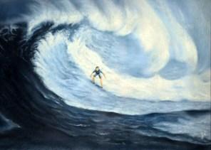 """PRIX DE L'OFFICE DE TOURISME VILLEFRANCHE-BEAUJOLAIS Ginette RAYNAUD pour le n°189 """"Surf"""""""