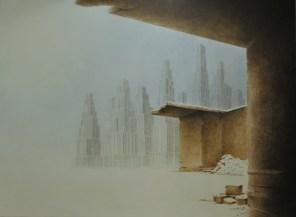 """PRIX DE L'OFFICE CULTUREL DE VILLEFRANCHE Denis PLESSEY pour le n°172 """"Brouillard"""""""