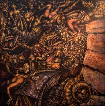 GRAND PRIX DU SALON 2015 Offert par le GAB Pascal BIDOT pour l'ensemble de ses œuvres