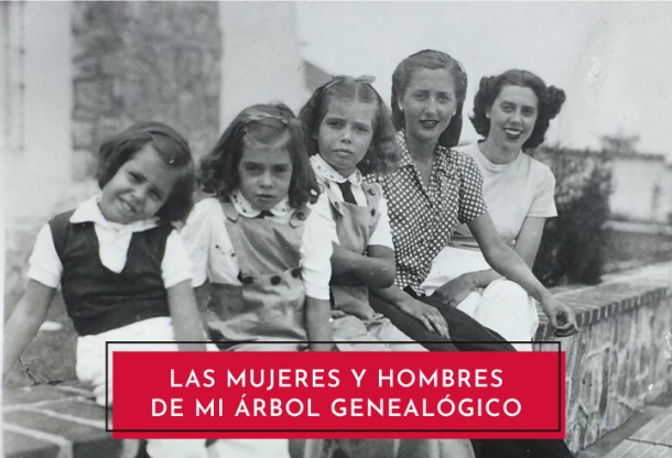 Las mujeres y hombres de mi árbol genealogico - Ebook descargable con ejercicios para el desarrollo y descubrimiento personal