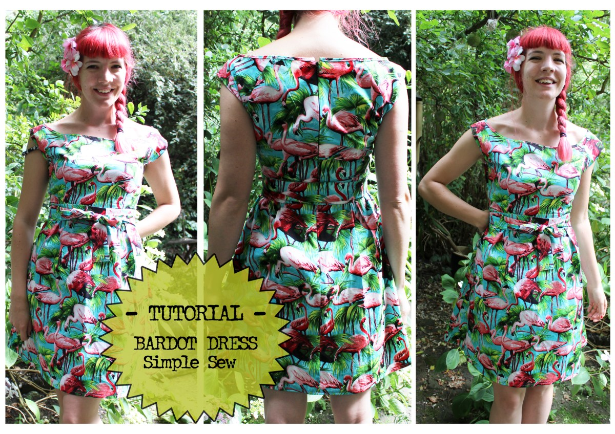 TUTORIAL - The Bardot Dress by Simple Sew