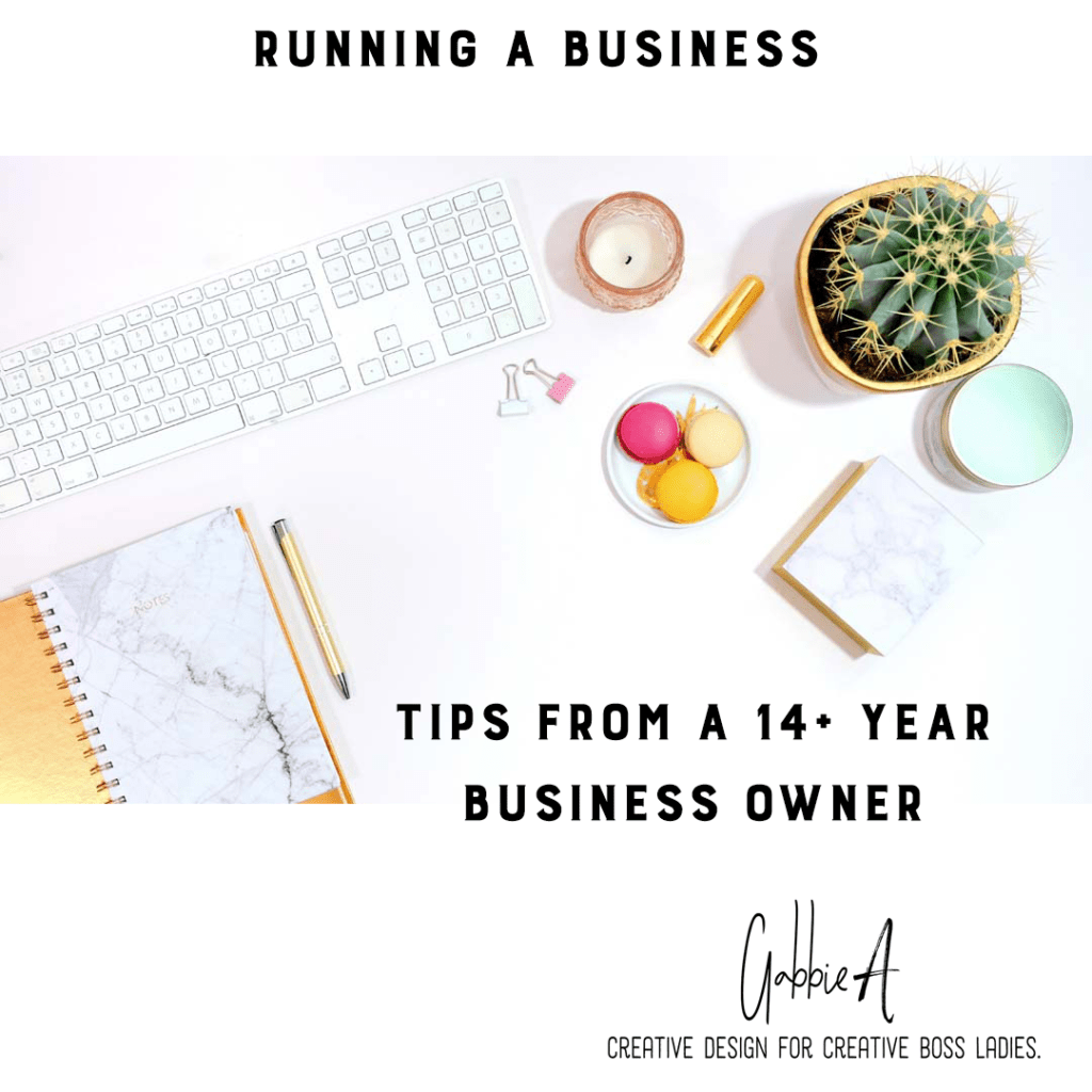 Running a creative business for over a decade was taught me.
