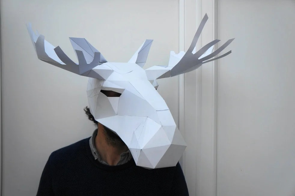 Cut To Perfection Paper Craft Animal Masks Gabbing Geek