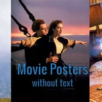 Movie Posters Without the Text...Part 1