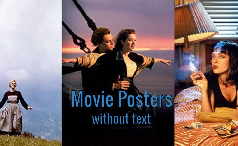 Movie Posters Without the Text…Part 4