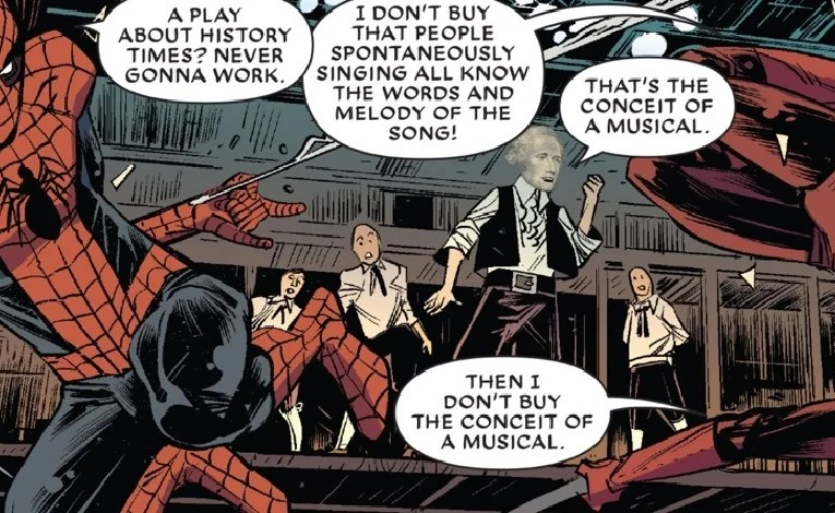 Hamilton In The Marvel Universe