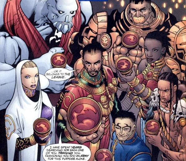 """The """"League of Ancients""""...somehow, I doubt they saw themselves as Ancient."""