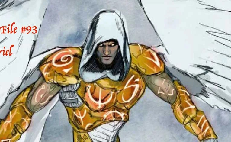Slightly Misplaced Comic Book Hero Case Files #93:  Zauriel