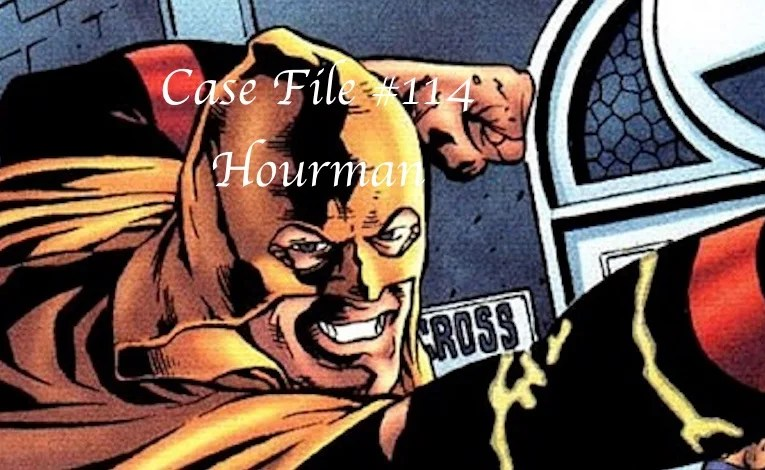 Slightly Misplaced Comic Book Heroes Case File #114:  Hourman