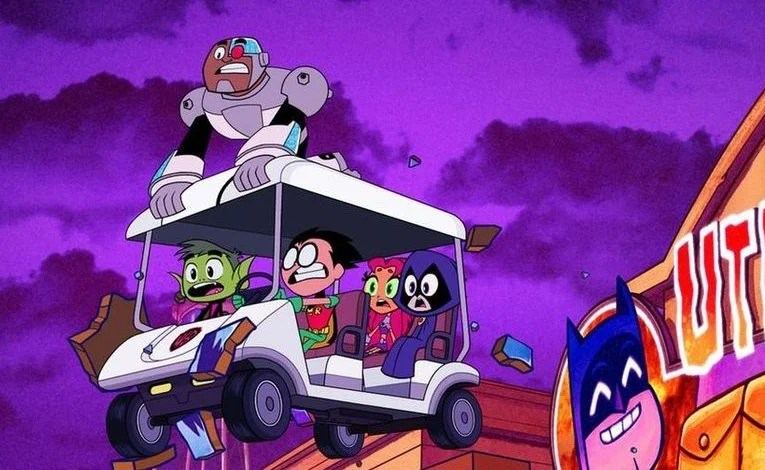 Geek Review:  Teen Titans Go!  To The Movies