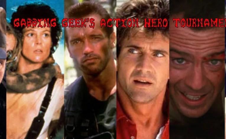 The Gabbing Geek Action Movie Hero Tournament: Round One