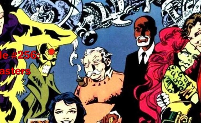 Slightly Misplaced Comic Book Heroes Case File #256:  The Blasters