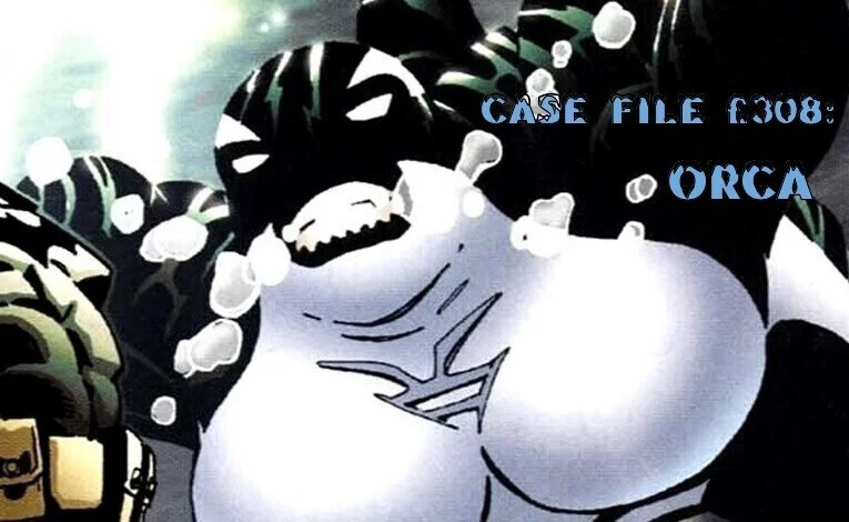 Slightly Misplaced Comic Book Characters Case File #308: Orca