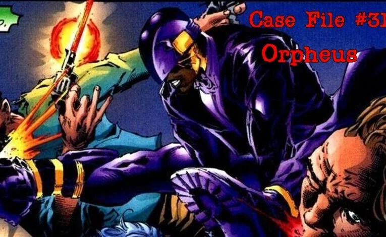 Slightly Misplaced Comic Book Characters Case File #311:  Orpheus