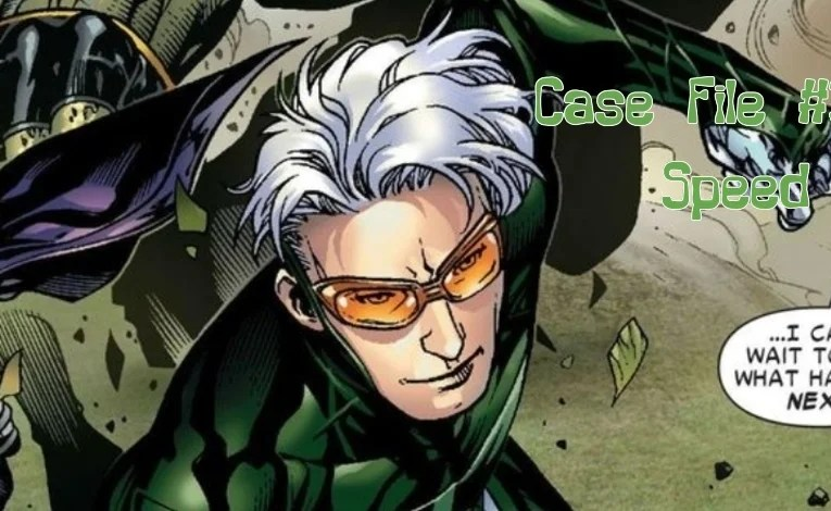 Slightly Misplaced Comic Book Characters Case File #319:  Speed