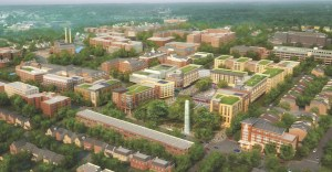early artist concept-walter reed development