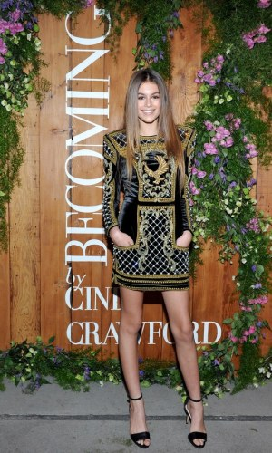 kaia gerber, cindy crawford, moda, look, modelo, fashion, outfit, model
