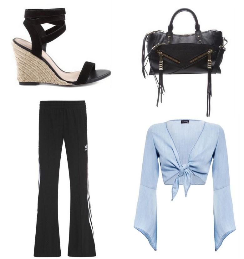 calça esportiva flare, moda, tendência, look, item da semana, fashion, style, sporty pants, trend
