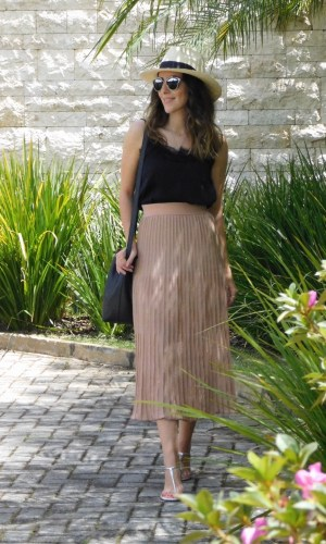 saias midi, Gabi May, look do dia, moda, estilo, tendência, fashion, style, trend, ootd