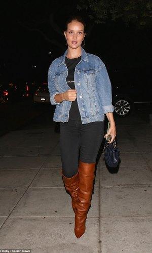 slouchy boots, tendência, moda, estilo, looks, trend, trend alert, fashion, style, outfits, rosie huntington-whiteley