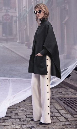 calça com botões laterais, moda, estilo, tendência, look, side snap pants, fashion, style, trend, outfits