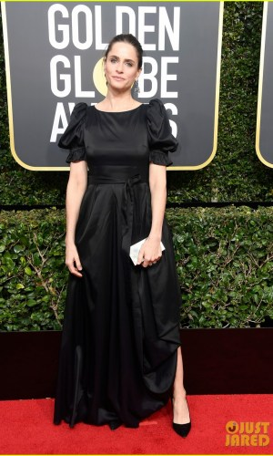 golden globe awards, golden globes 2018, moda, estilo, looks, inspiração, celebridades, tapete vermelho, fashion, style, outfits, gowns, inspiration, celebrities, red carpet, time's up, amanda peet