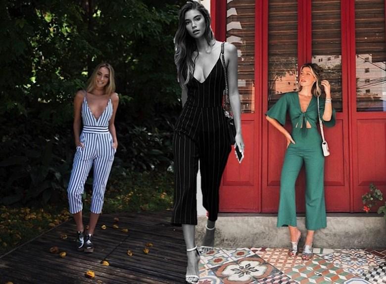 macacão cropped, moda, estilo, looks, inspiração, tendência, cropped jumpsuit, fashion, style, inspiration, outfits, trend