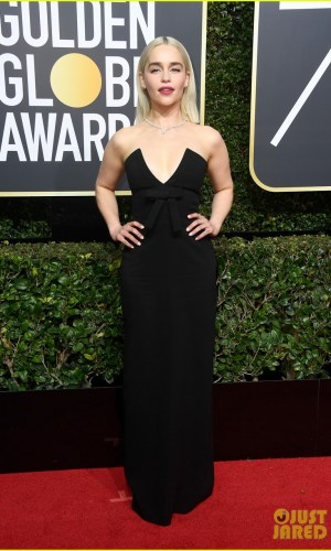 golden globe awards, golden globes 2018, moda, estilo, looks, inspiração, celebridades, tapete vermelho, fashion, style, outfits, gowns, inspiration, celebrities, red carpet, time's up, emilia clarke