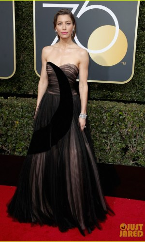 golden globe awards, golden globes 2018, moda, estilo, looks, inspiração, celebridades, tapete vermelho, fashion, style, outfits, gowns, inspiration, celebrities, red carpet, time's up, jessica biel