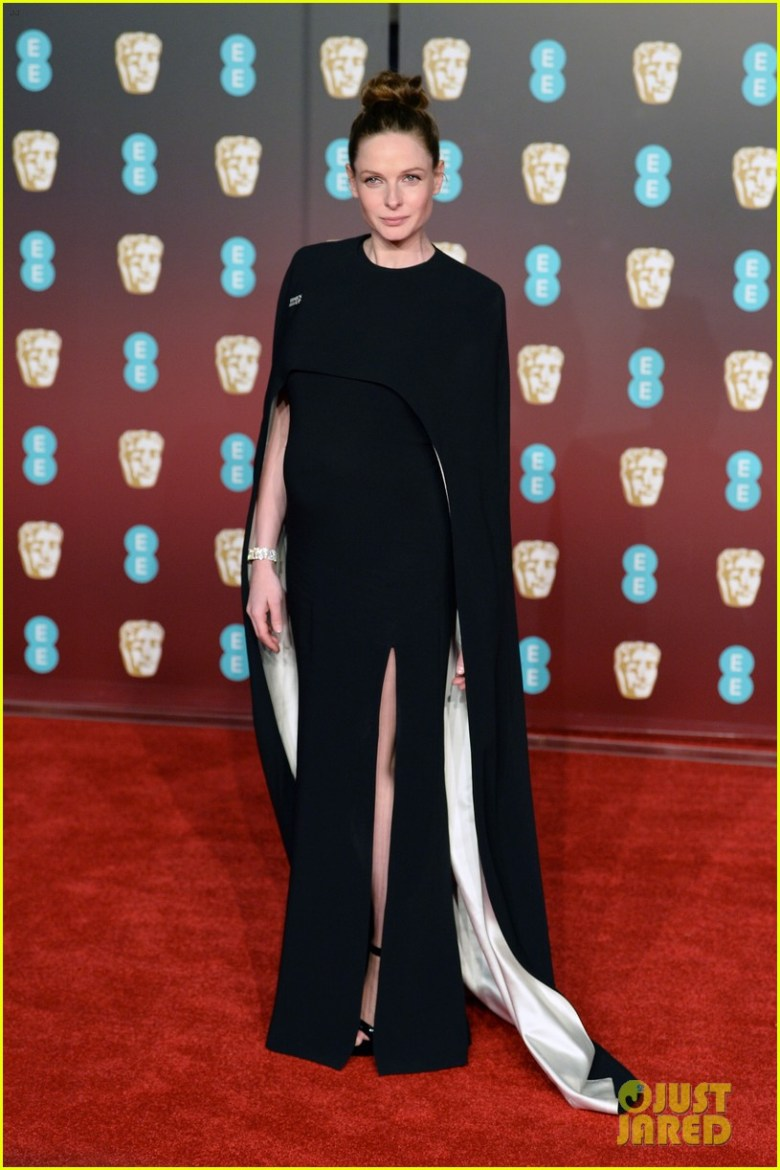 BAFTAs 2018, tapete vermelho, celebridades, looks, vestidos longos, moda, estilo, premiação, time's up, red carpet, celebrities, fashion, style, outfits, gowns, rebecca ferguson