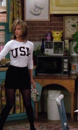 rachel green, jennifer aniston, friends, anos 90, looks, tendência, moda, estilo, trend, 90s, outfits, fashion, style, estilo esportivo, sporty style