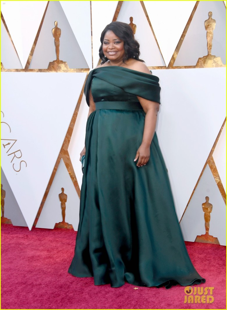 oscar 2018, tapete vermelho, celebridades, premiação, moda, estilo, looks, vestido longo, 2018 oscars, red carpet, celebrities, award season, fashion, style, gowns, outfits, octavia spencer