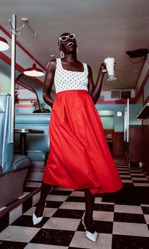 saia com botões frontais, moda, estilo, tendência, looks, button front skirt, fashion, style, trend, outfits