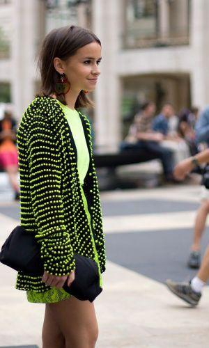 looks neon, moda, estilo, tendência, street style, neon outfit, fashion, style, inspiration, trend, miroslava duma