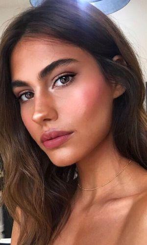 maquiagem natural, maquiagens para verão, maquiagem, beleza, inspiração, summer makeup, makeup, inspiration, beauty, morena, brunette