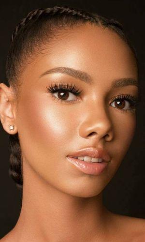 maquiagem natural, maquiagens para verão, maquiagem, beleza, inspiração, summer makeup, makeup, inspiration, beauty, negra, dark skin