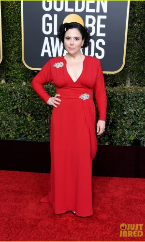 golden globes 2019, golden globes, awards season, red carpet, fashion, look, gown, tapete vermelho, premiação, moda, look, vestido longo, hollywood, alex borstein