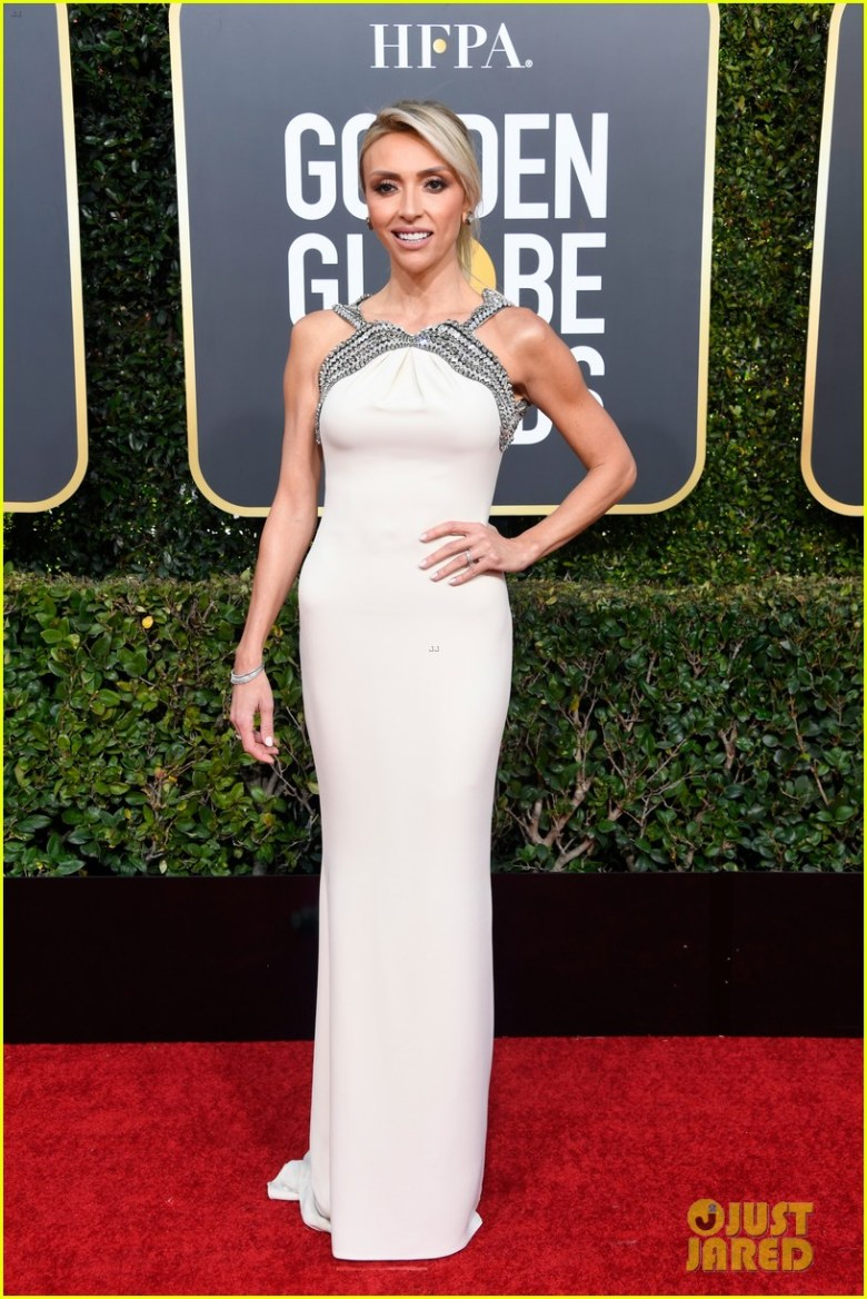 golden globes 2019, golden globes, awards season, red carpet, fashion, look, gown, tapete vermelho, premiação, moda, look, vestido longo, hollywood, giuliana rancic