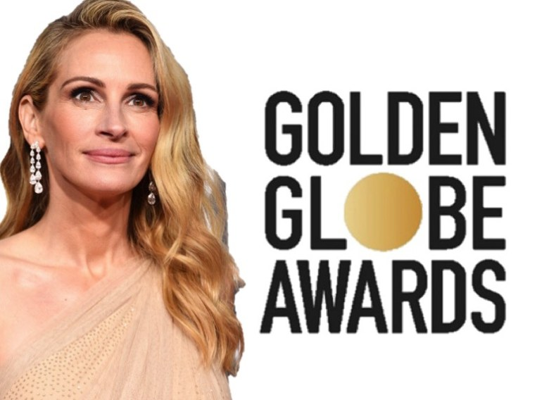 golden globes 2019, golden globes, awards season, red carpet, fashion, look, gown, tapete vermelho, premiação, moda, look, vestido longo, hollywood, julia roberts
