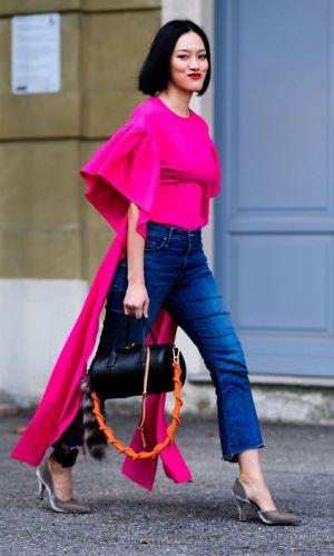 blusa estilosa, mangas chamativas, moda, estilo, looks, tendência, statement sleeves, stylish top, fashion, style, inspiration, trend, outfits, street style