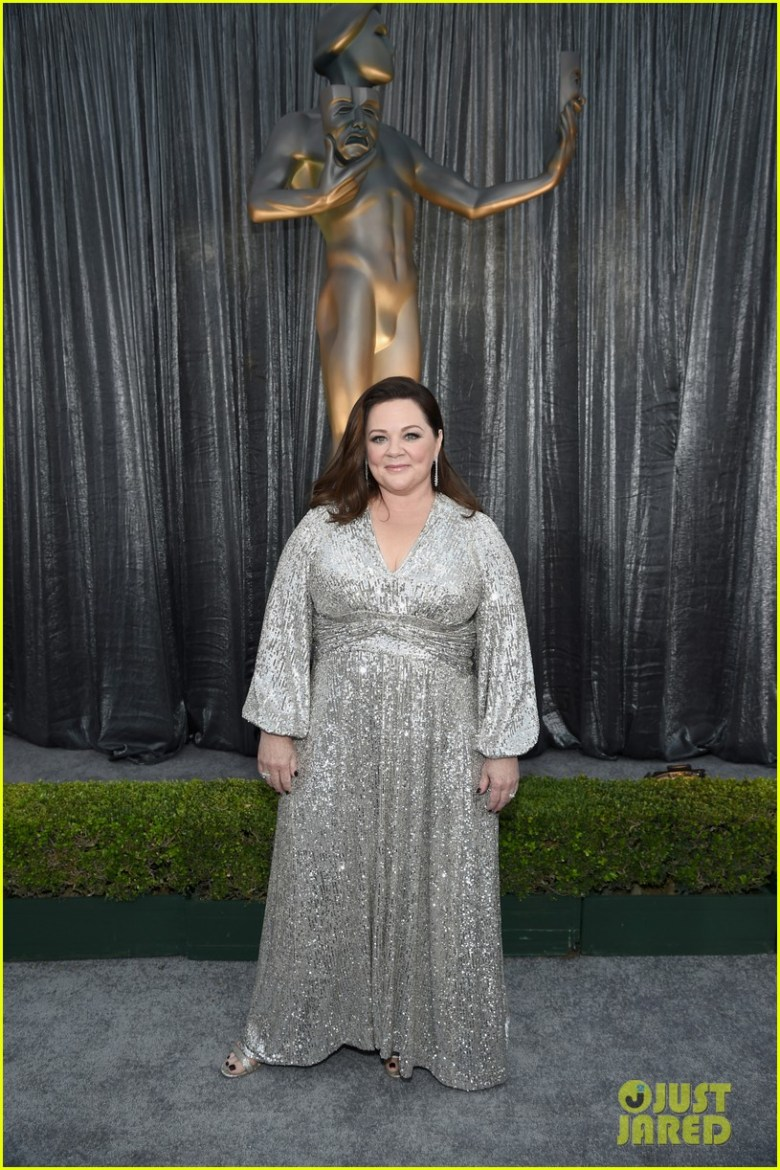 sag awards 2019, best dressed, mais bem vestidas, hollywood, moda, estilo, looks, fashion, style, outfits, melissa mccarthy, lorane