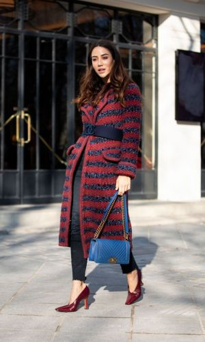 street style, paris haute couture week, moda, semana de moda, alta costura, moda, estilo, looks, it girls, fashion, style, fashion week, outfits, tamara kalinic