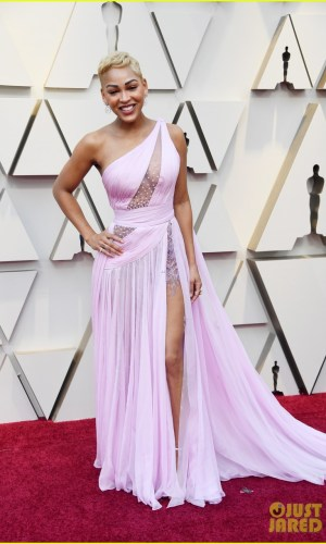 oscar 2019, tapete vermelho, celebridades, hollywood, moda, vestidos, looks, 2019 oscars, gowns, red carpet, celebrities, award season, meagan good