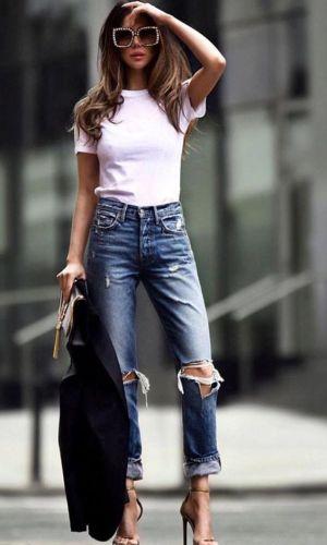 camiseta branca, looks, moda, estilo, inspiração, fashion, style, outfit, casual style, white t-shirt